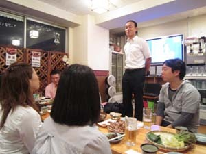 韓国料理研究家・ほんだともみのコリアンワールド-新大久保で韓国料理を食べる会