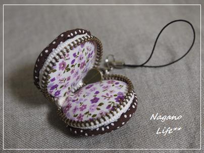 Nagano Life**-マカロンストラップ