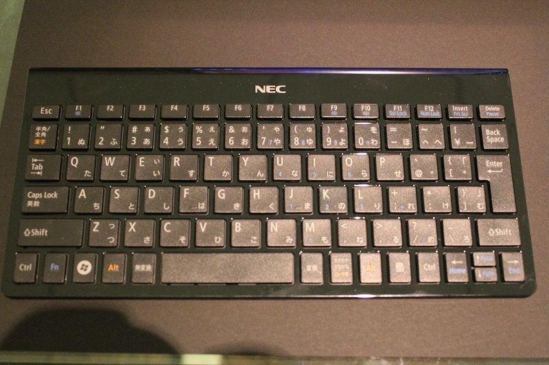 NEC特選街情報 NX-Station Blog-LaVie Touch キーボード