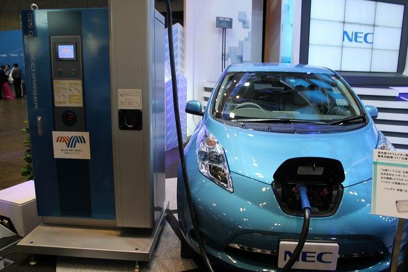 NEC特選街情報 NX-Station Blog-NEC 電気自動車と充電スタンドシステム