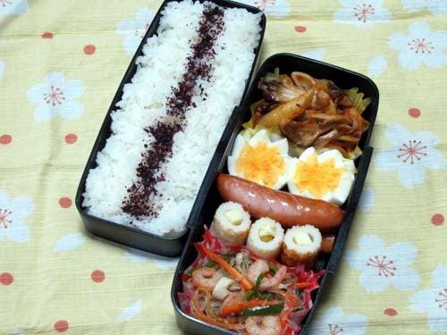 韓国料理研究家・ほんだともみのコリアンワールド-海老の塩チャプチェ