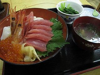 晴れのち曇り時々Ameブロ-海鮮丼