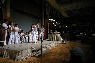 竜太のカポエイラブログ(イベントやメディア出演、ブラジル話など)-アマンダ踊る!