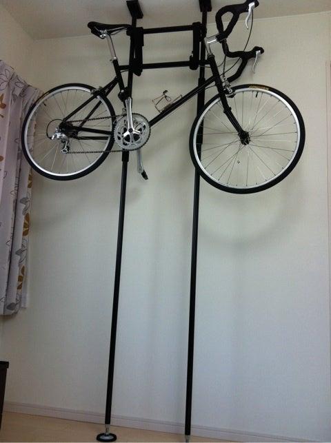 室内用自転車ラックDIYその後 ...