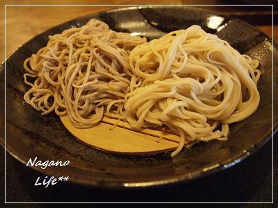 Nagano Life**-二種盛り(十割と二八)