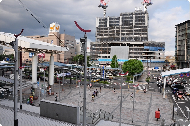 JR九州 鹿児島中央駅 ~ 東口駅前広場 ~   mai×2 no BLOG