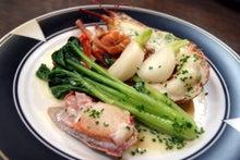 食べて飲んで観て読んだコト+レストラン・カザマ-オマール海老