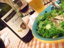 日々 更に駆け引き-サラダ&ワイン