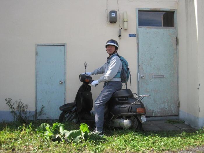 $歩き人ふみの徒歩世界旅行 日本・台湾編-原チャリに乗る