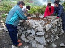 チャレンジキャンプ2011-石段