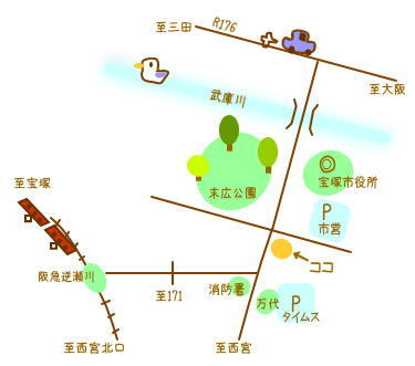 RAINBOW STUDIO BLOG-map