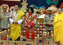 $潜伏中なブログ-ブータン国王、王妃両殿下結婚式