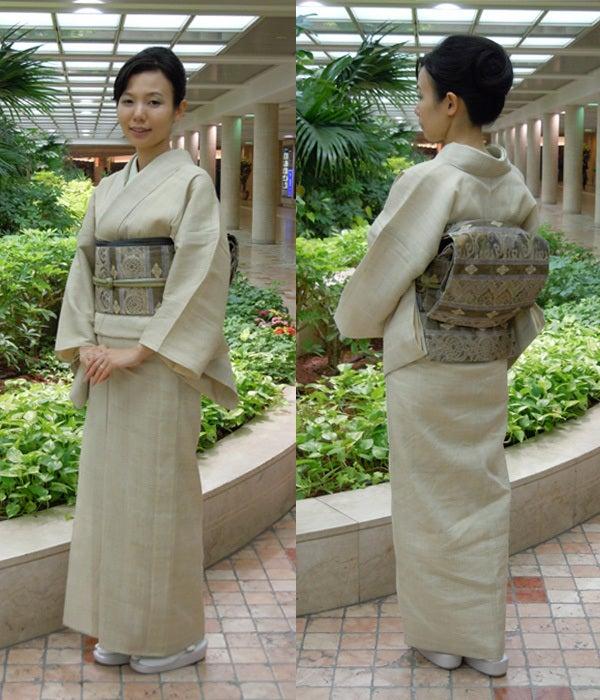 Yukoのハンドメイド+着物雑記-生成りしょうざん