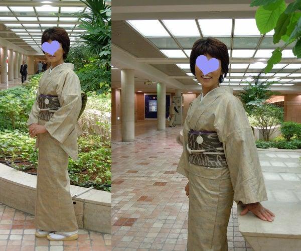 Yukoのハンドメイド+着物雑記-ろうけつ染の帯