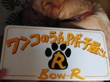 $ワンコのうんPポーチ屋さん  Bow-R