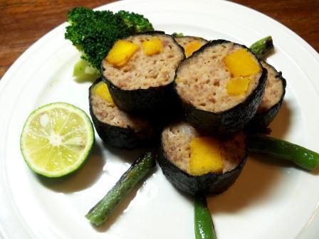 なずな便り  なずな弁当-10.13豚海苔巻1