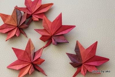 クリスマス 折り紙 もみじ 折り紙 : ameblo.jp