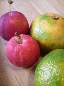 日々 更に駆け引き-みかんとりんご