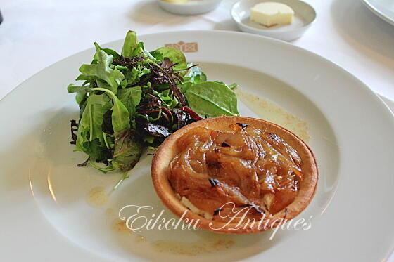 英国アンティークス・オフィシャルブログ-Barnsley House Lunch