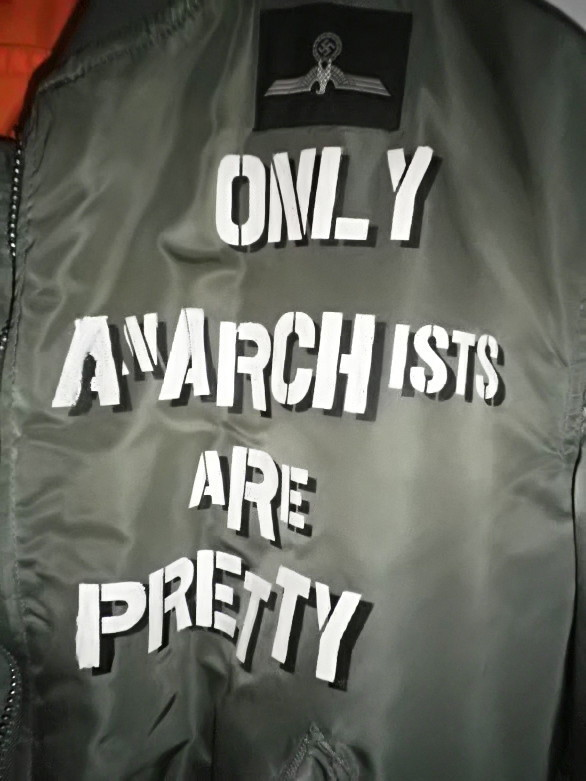 PARANOIA TRAINの日々-ANARCHY MA-1