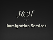 $ロサンゼルス グリーンカード 永住権 ジェイ アンド エイチ イミグレーション サービス-J&H ロゴ