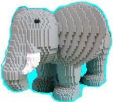 ダイヤブロックファクトリー-ゾウ