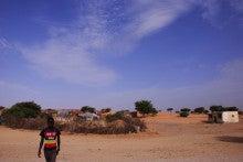自転車世界横断!!TERU-TERU project-Mauritania roads10