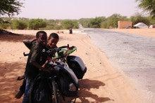 自転車世界横断!!TERU-TERU project-Mauritania roads15