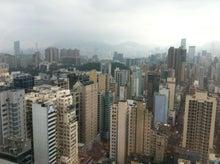 庭クイック社長のブログ ?緑の中で働く社長のブログ?-香港の高層ビル群