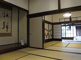 晴れのち曇り時々Ameブロ-旧堀切邸(居間と裏部屋)