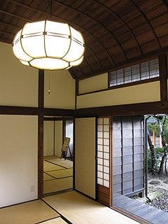 晴れのち曇り時々Ameブロ-旧堀切邸(通り間)