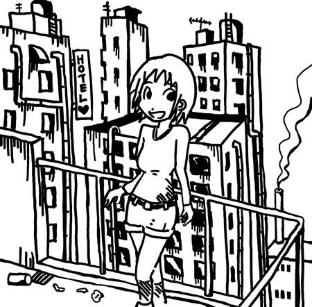 ちくわぱん(デザイン調整中) by 写楽斎- イラスト 香港ガール