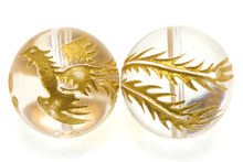 ryujinのブログ-鳳凰金彫り
