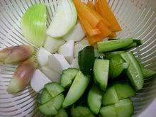 夫婦世界旅行-妻編-野菜たち