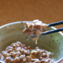 朝食の定番の納豆は、…