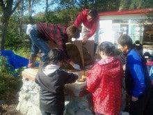チャレンジキャンプ2011-土盛り