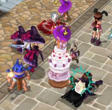 ECO 販売会のお知らせとエミルな日々-ケーキケーキ!