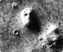 志葉楽のブログ-火星の「人面岩」