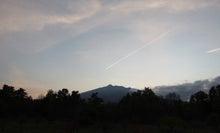 $pepeのブログ-飛行機雲2