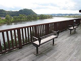 晴れのち曇り時々Ameブロ-ゆったりと流れる阿武隈川