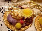 新米作家のフェイクスイーツデコ日記*Up to Yuu Fake Sweets*-麦わらチャーム
