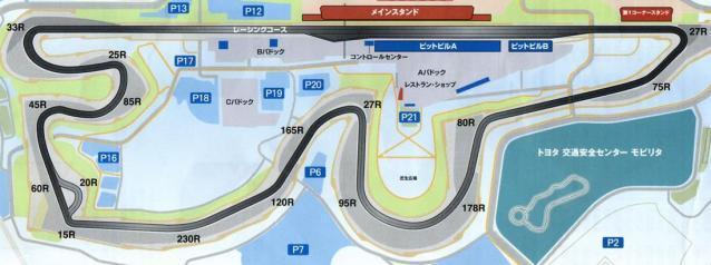 富士スピードウェイコース