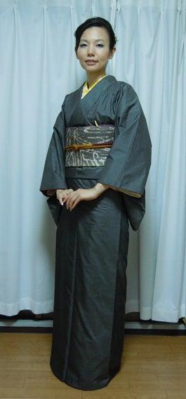 Yukoのハンドメイド+着物雑記-男物大島紬
