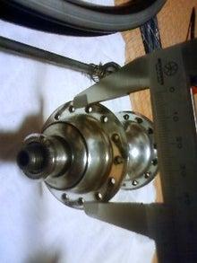 東員自転車工房の作業日誌-スポーク穴ピッチ半径測定