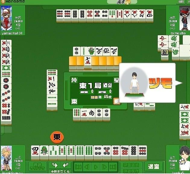 咲ーSaki-好きによる麻雀闘牌記録-大三元包6