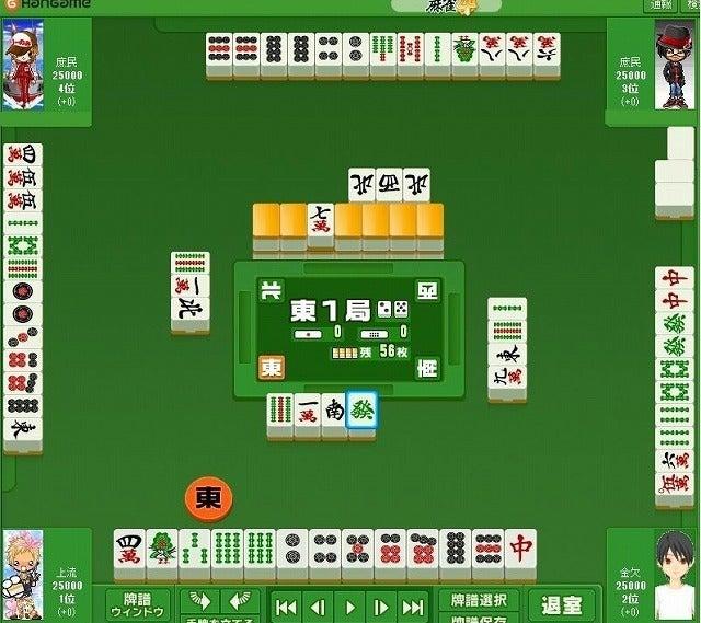 咲ーSaki-好きによる麻雀闘牌記録-大三元包2