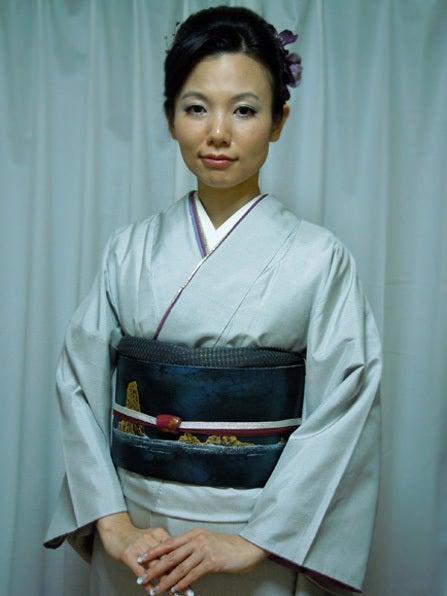 Yukoのハンドメイド+着物雑記-田中一村のきもの(アップ)