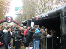 欧州サッカークラブとの仕事を語るブログ-ミランキャンプデー2