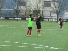 欧州サッカークラブとの仕事を語るブログ-ヘンリー試合2