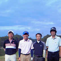 またゴルフ